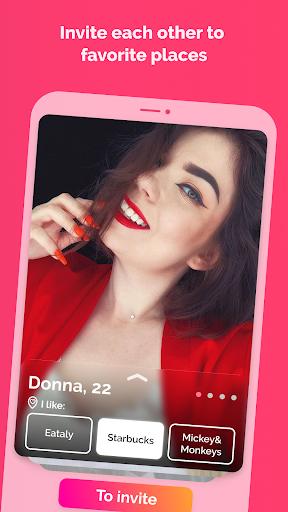 Firstep - match, chats, drinks 1.0.5 screenshots 2
