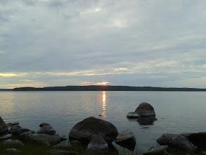 Photo: Озеро Суоярви. Закат
