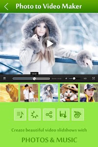 Photo Video Maker with Music screenshot 1