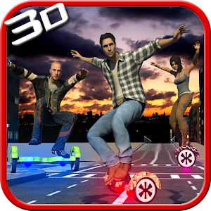 Hoverboard Racing 3d Simulator for PC and MAC