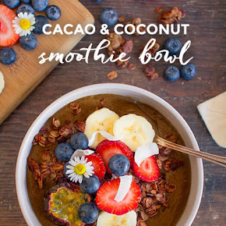 Cacao & Coconut Smoothie Bowl.
