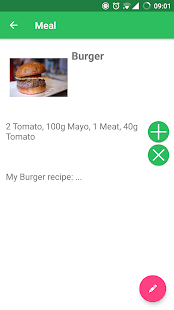 Food Planner- screenshot thumbnail