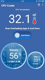 CPU Cooler Pro - Phone Cooler Pro for Android Screenshot