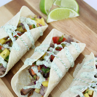 Lamb Tacos With Mango Salsa