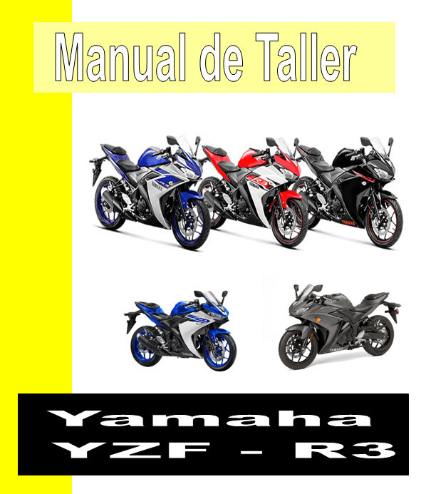 Yamaha YZF - R3-manual-taller-despiece-mecanica