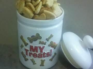 Milk-Bone-LIKE Doggie Cookies