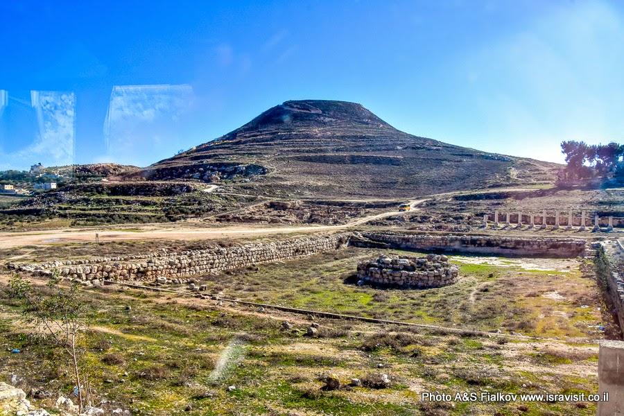 Национальный парк Израиля – Иродион. Крепость и дворец Ирода Великого.