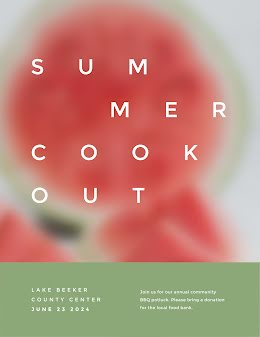 Summer Cookout - Poster item
