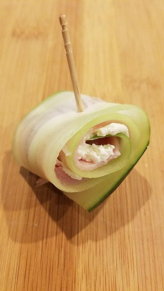 Cucumber Roll ups