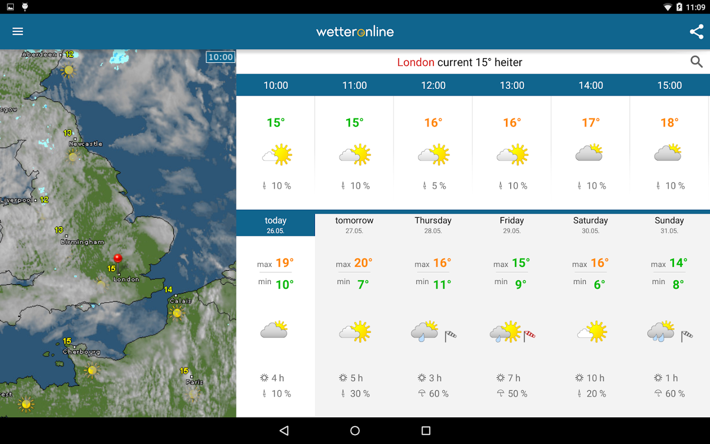 Weather & Radar - screenshot