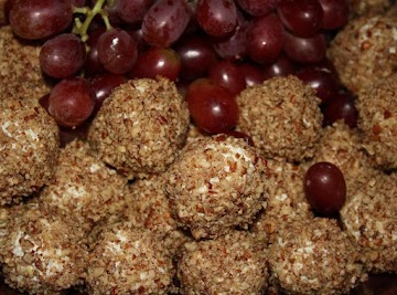 Cheese Wrapped Grapes Recipe