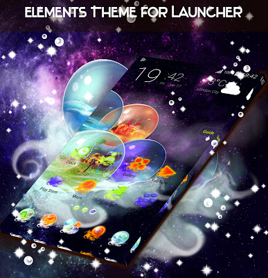 Elements Theme for Launcher - screenshot