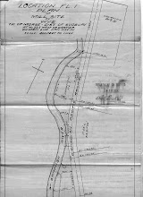 Photo: Survey of Wye Mill site, 1930, although name was changed in 1917 (Confusion of name for CP stop continued up to the 1950 when Bill Hammond asked for a ticket to Sheahan was told it was called Wye.)