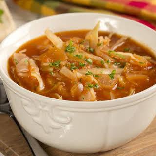 Zesty Cabbage Soup.