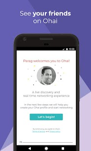 Ohai - Live Networking App for Professionals- screenshot thumbnail
