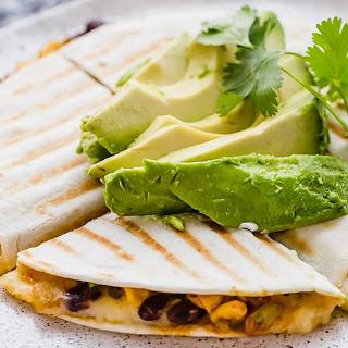 Spicy Black Bean and Corn Quesadillas Recipe