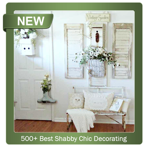 500 Best Shabby Chic Decorating (app)
