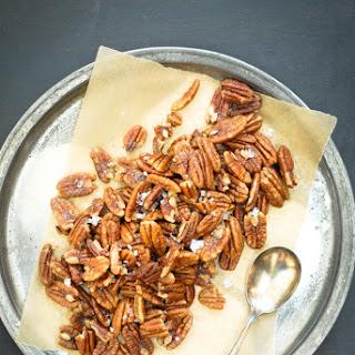 Warm Cinnamon Buttered Pecans