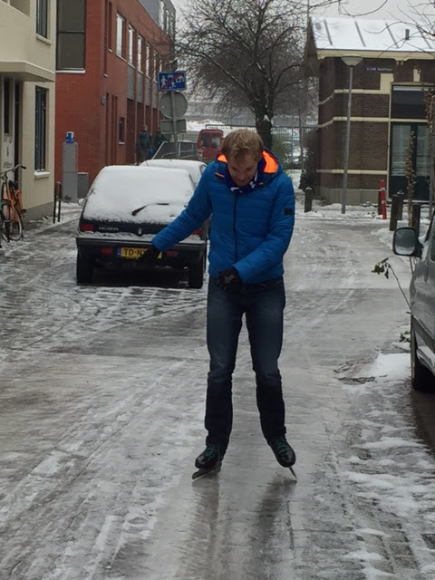 Nick aan het straatsen