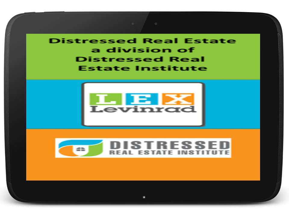 Distressed Real Estate- screenshot