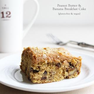 Peanut Butter & Banana Breakfast Cake