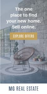 Find Your New Home - Half Page Ad Template
