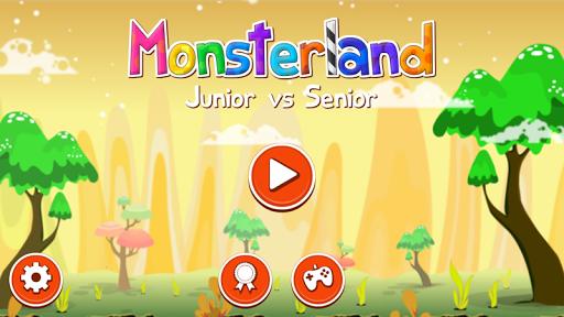 Monsterland. Junior vs Senior