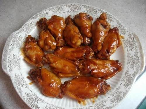 "Click Here for Recipe: Bourbon Chicken Wings ""These are by far 'the..."