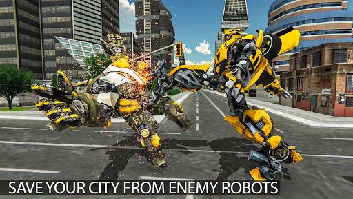 Grand Shooting Robot Transform Car 2019 1.0 screenshots 2