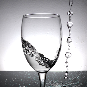 Water Splash by Micah Jaron Flack - Artistic Objects Glass ( water, splash, glass, artistic object, water splash )