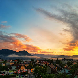 Perfect view by Cosmin Lita - Instagram & Mobile Android ( slovenia, beautiful, sunrise, mobile photos, colors )