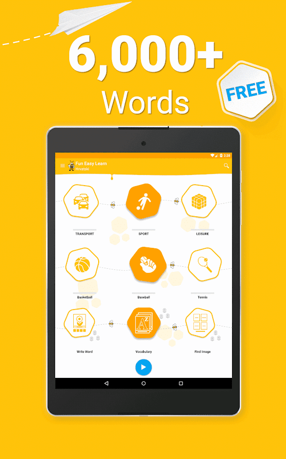 Learn Croatian Vocabulary - 6,000 Words- screenshot