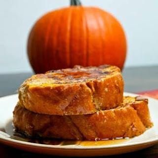 Pumpkin Pie French Toast.
