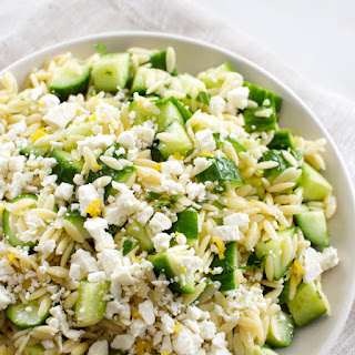 Lemon Feta Orzo Pasta Recipes