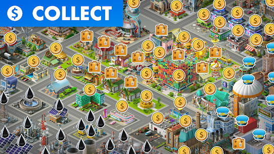 Airport City Mod Apk (Unlimited Coins/Energy/Oil) 8.2.12 7