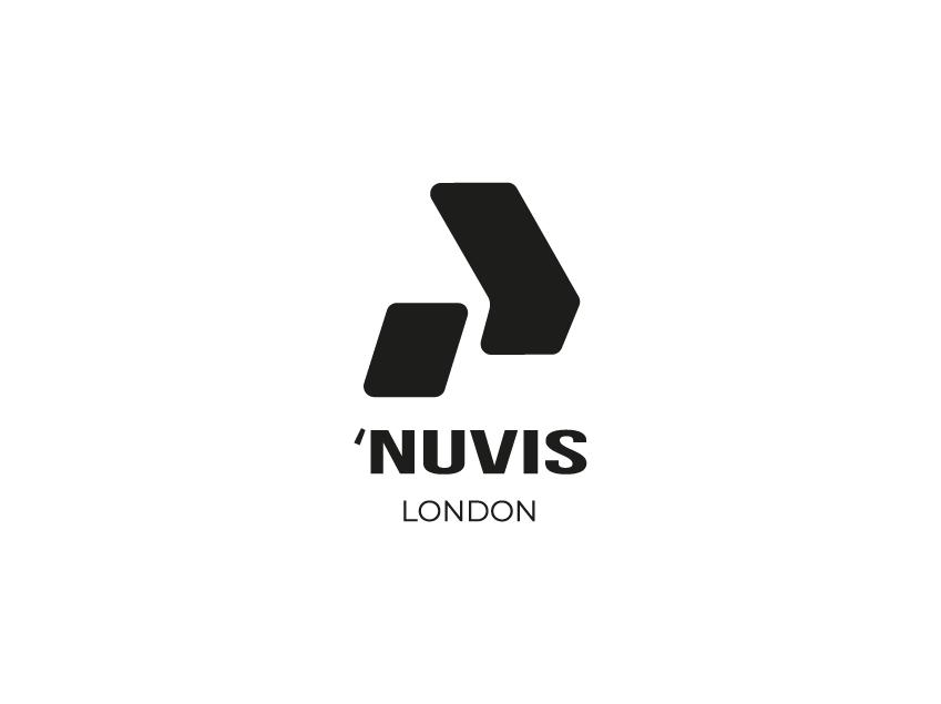 Nuvis London Logo Design