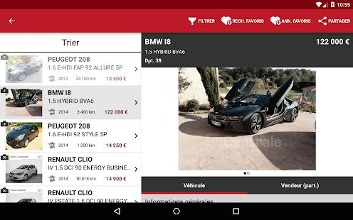 La Centrale voiture occasion- screenshot thumbnail