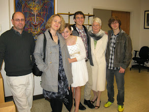 Photo: The Slanes with Nana