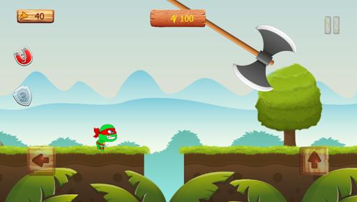 Ninja jump: Mutant kids adventure HD game apkmr screenshots 4