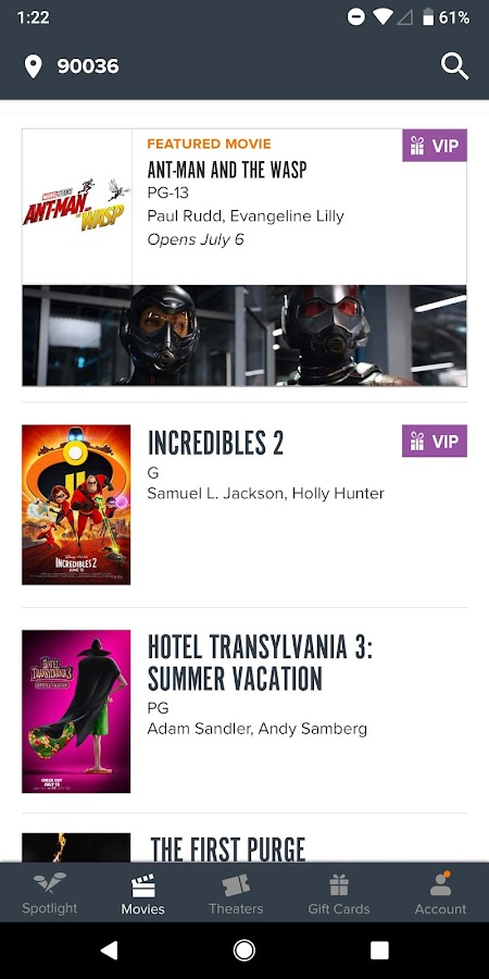 Fandango Movies - Times + Tickets- screenshot