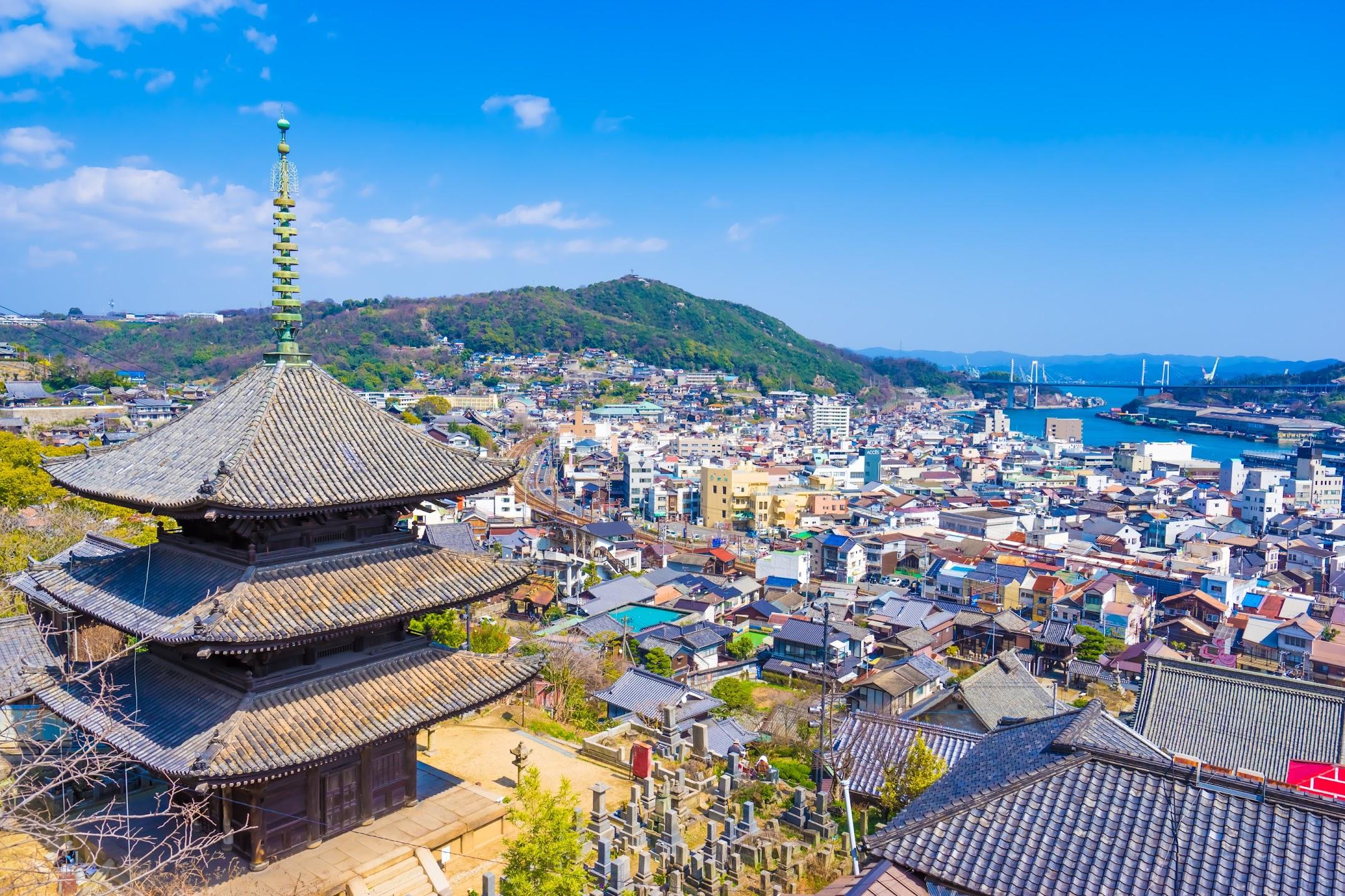 Onomichi Tenneiji Temple Kaiun-to