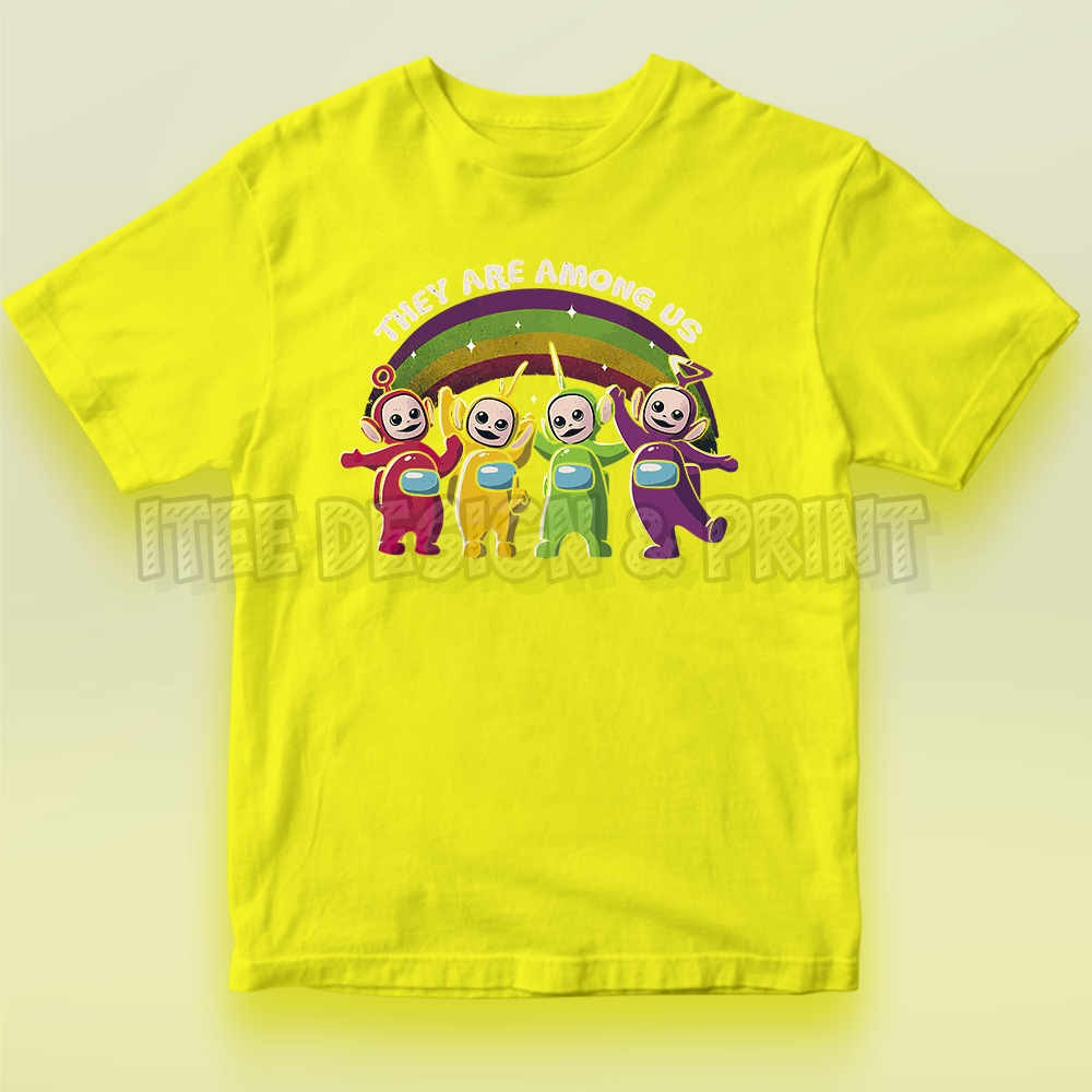 They Are Among Us Funny Teletubbies Game Impostor 6