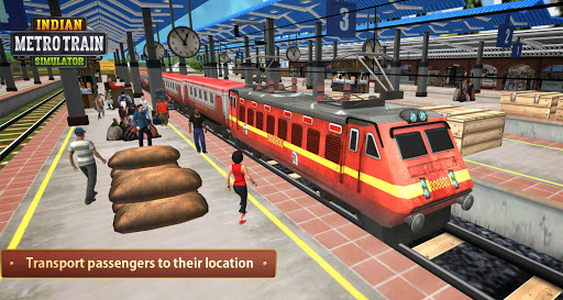 Indian Metro Train Simulator 2020 apkpoly screenshots 14