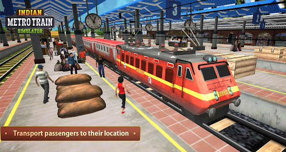 Indian Metro Train Simulator 15