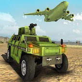 US Army Transport Game 2- Army Truck & Cargo Plane