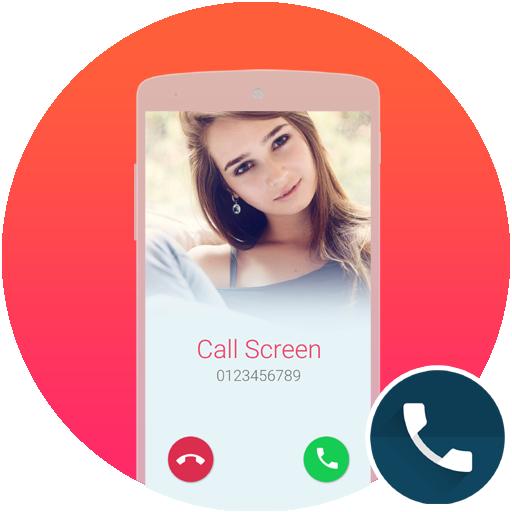 Call Screen Theme White