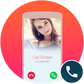 Call Screen Theme White