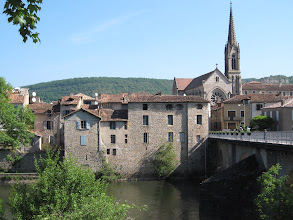 Photo: St Antonin Noble Val et l'Aveyron