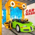 Smart Car Wash Service Station: Car Mechanic Games icon