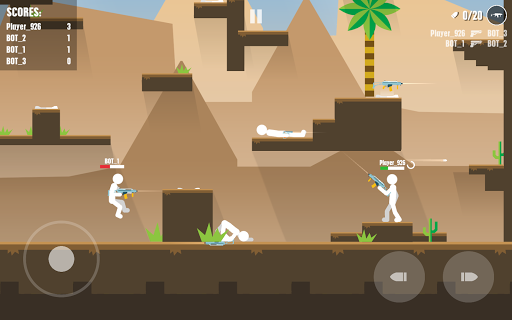 Stickman Battles: Online Shooter  captures d'écran 5